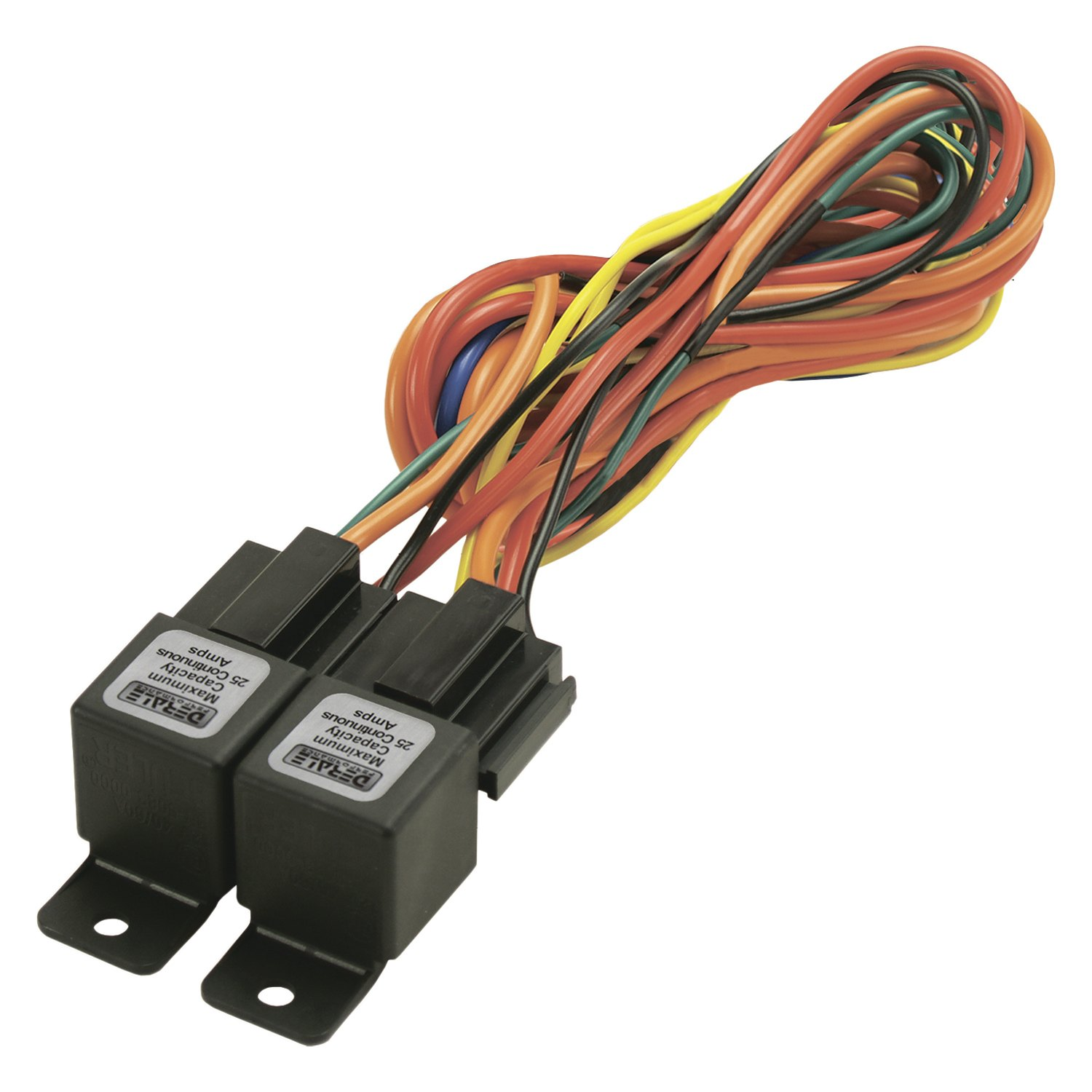 Derale Performance® 16765 - Dual Relay Wire Harness Kit on