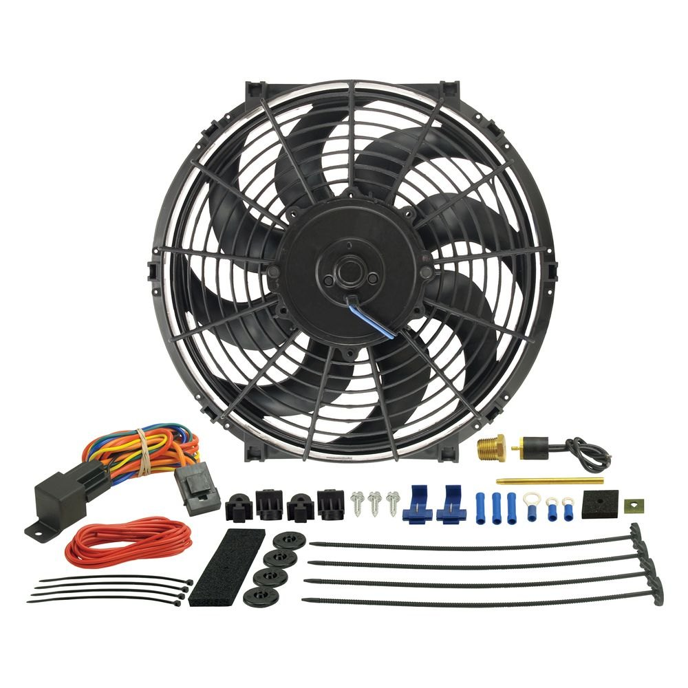Derale Performance 16012 Tornado Electric Fan With Controller Kit