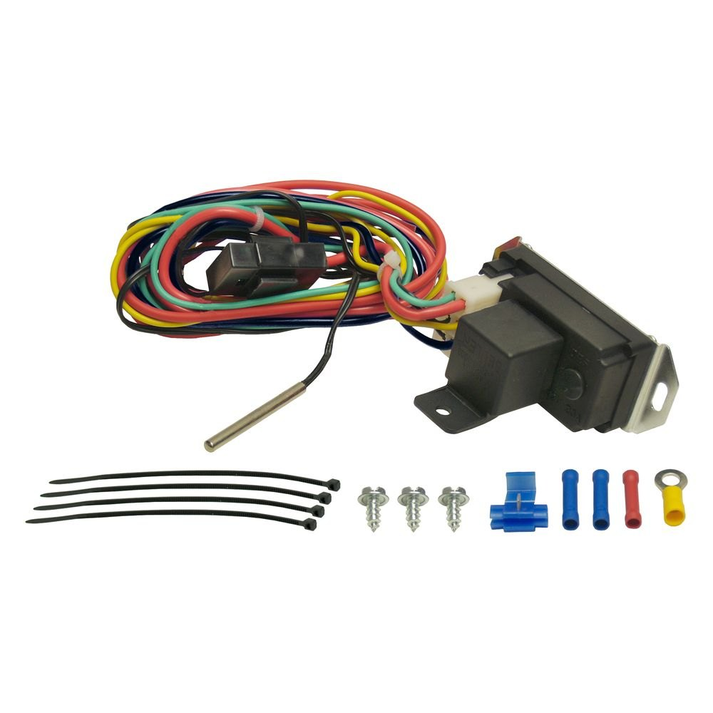 16759 3 derale performance� adjustable electric fan controller derale electric fan wiring diagram at n-0.co