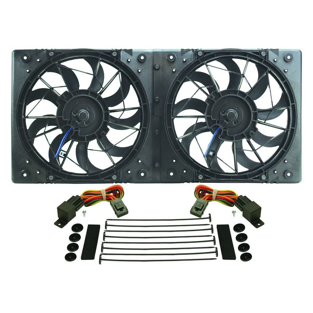 Derale Performance 174 16812 High Output Dual Radiator