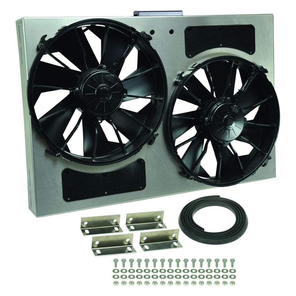 Electric Radiator Fan : Derale performance dual electric radiator fan