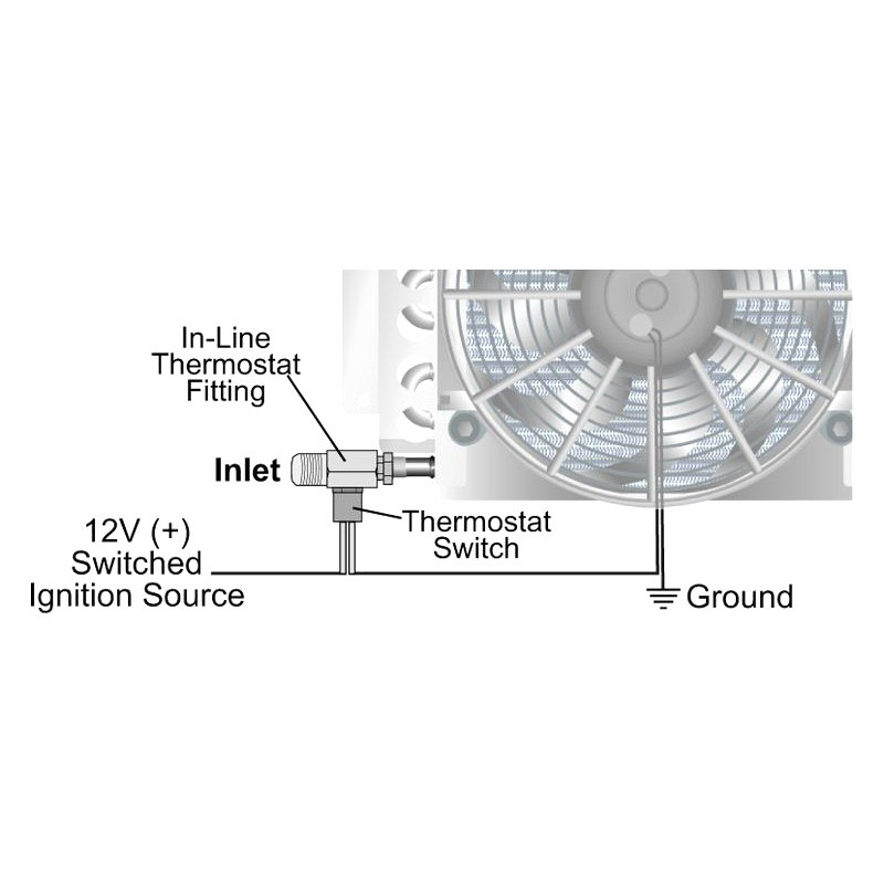 [SCHEMATICS_4CA]  Derale Performance® 15752 - Remote Oil Cooler Mounting Kit | Derale Oil Cooler Wiring Diagram |  | CARiD.com