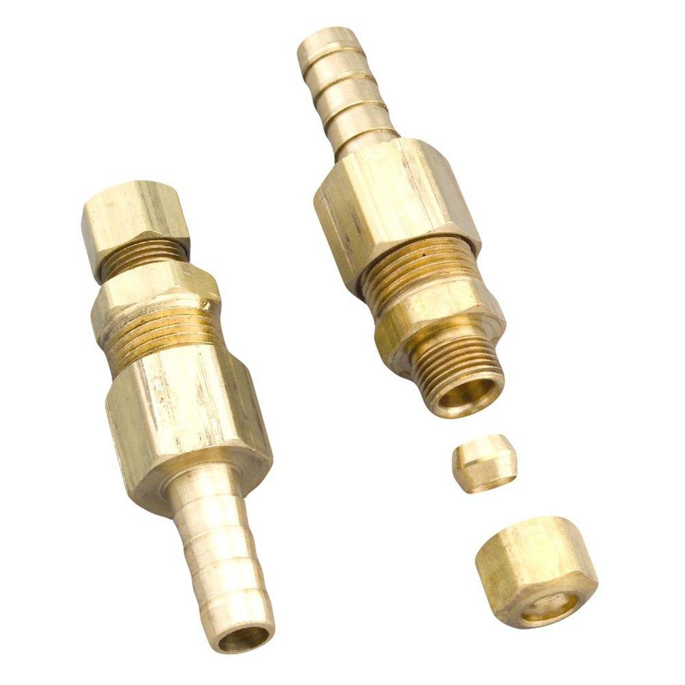 Derale performance transmission cooler line fitting