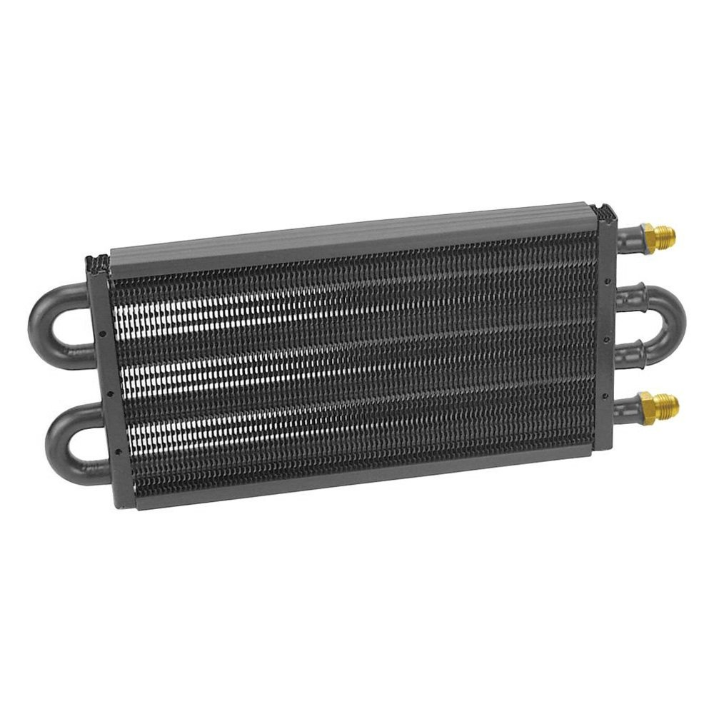 Racing Transmission Fluid Cooler : Derale performance series tube and fin