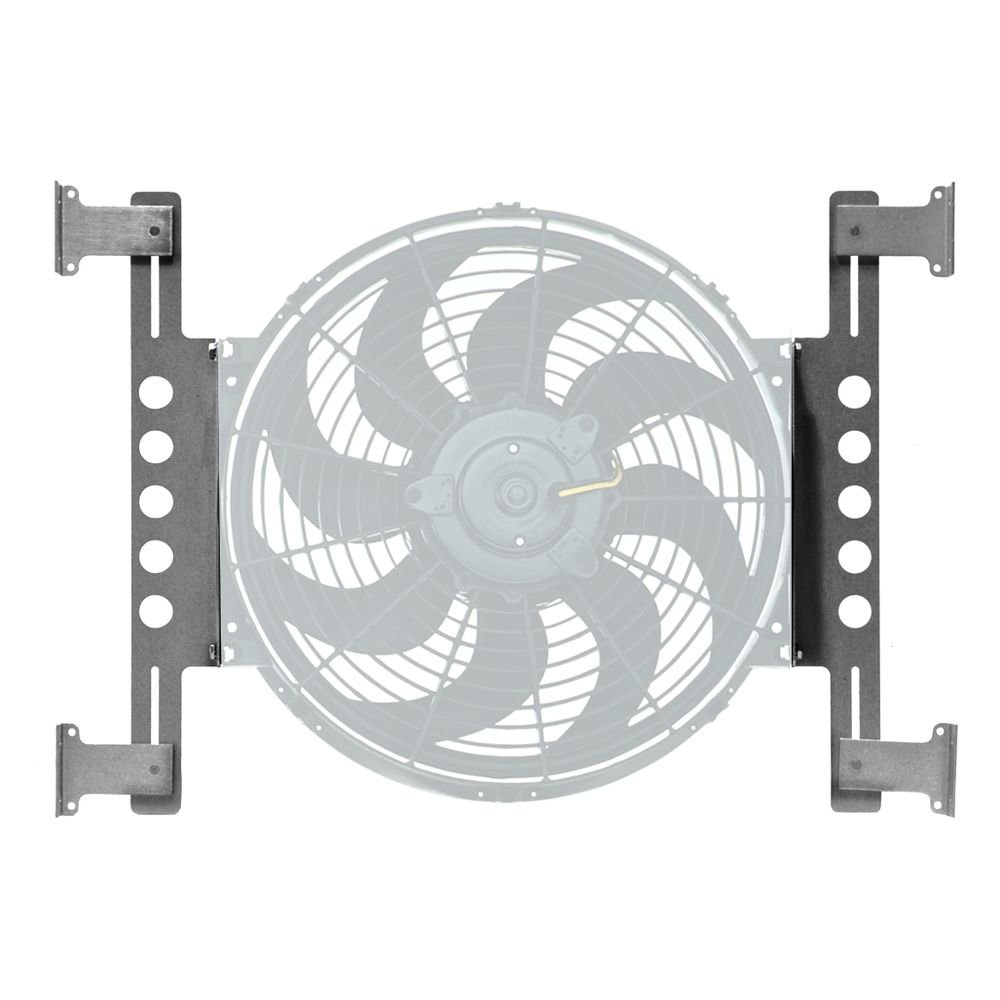 Fan Mounting Hardware : Derale performance tornado electric fan mounting