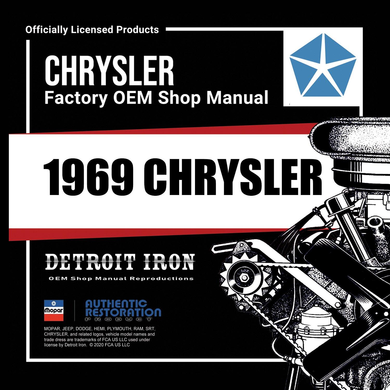 Detroit Iron DCDC Chrysler Factory OEM Shop Manuals On CD - Chrysler shop