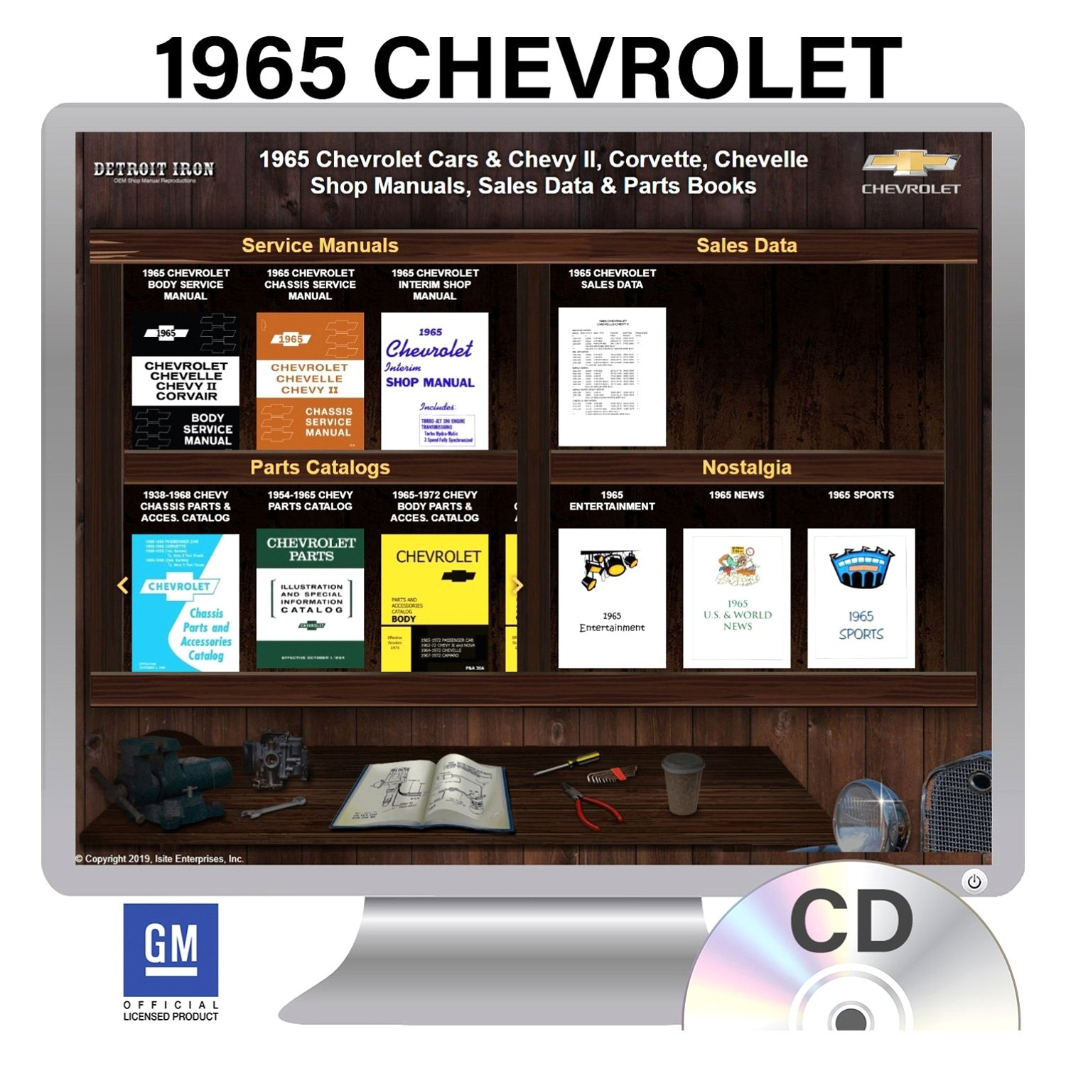 1965 Chevelle Factory Owners Manual OE Quality Printed In The USA!