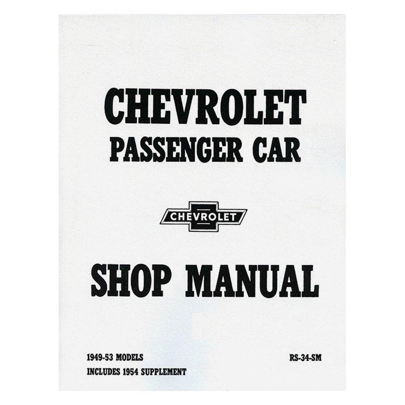 Detroit Iron® - 1949-1953 Chevrolet Passenger Car Shop Manual