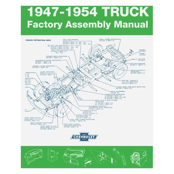 Detroit Iron® - 1947-1954 Chevrolet Truck Factory Assembly Manual