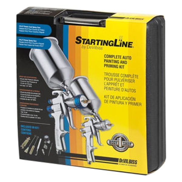 Devilbiss startingline hvlp automotive spray painting for Car spray paint kit