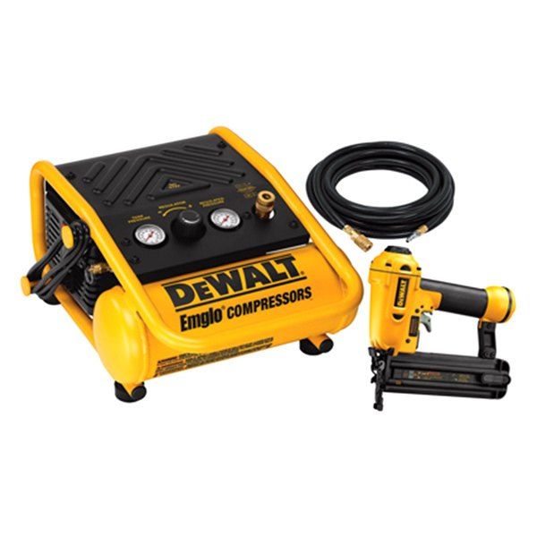"DeWALT® D55140BN - 2"" Brad Nailer/1Gallon Compressor Kit"