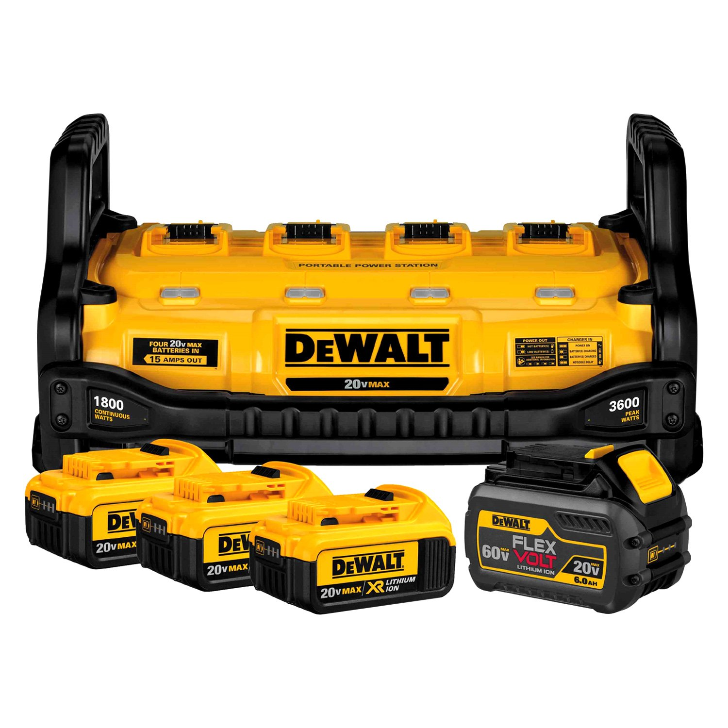 Dewalt 174 1800w Portable Power Station And Parallel