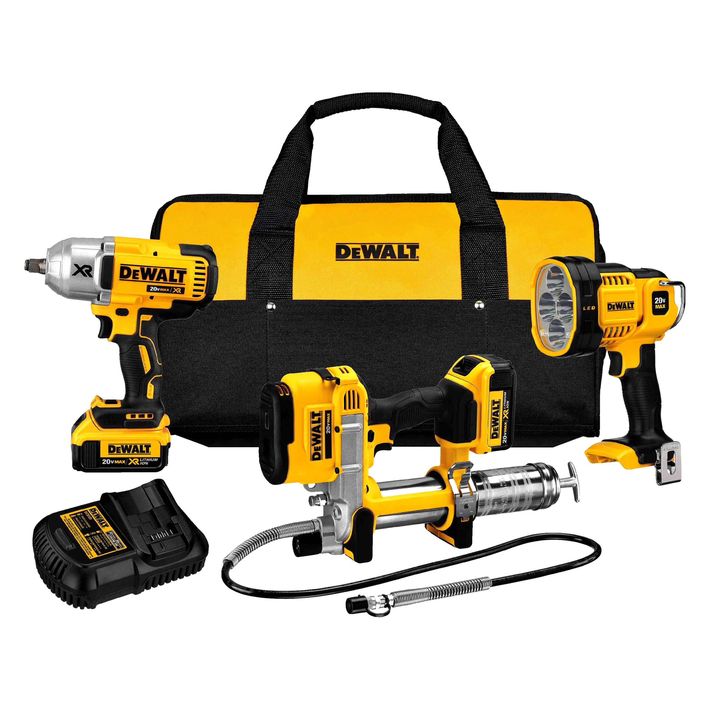 DeWalt® DCK397HM2 - 20V MAX Li-Ion 3-Tool Combo Kit