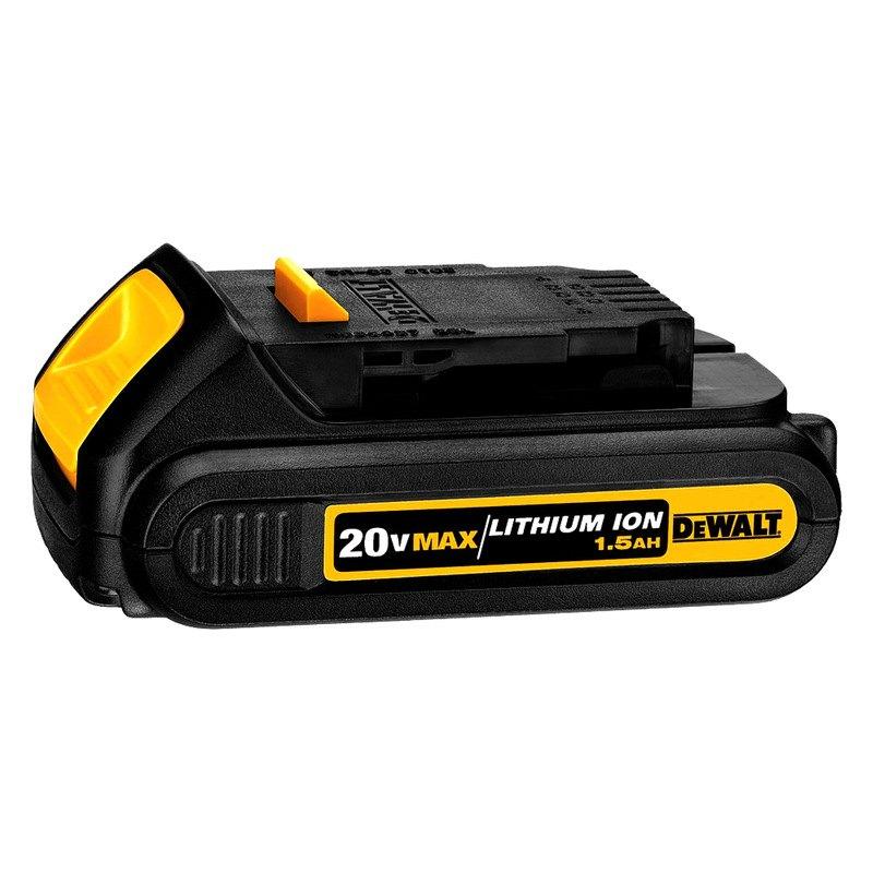 Dewalt 174 Dcb201 20v Max 1 5 Ah Li Ion Compact Battery Pack