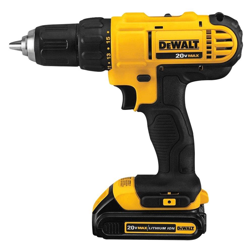 DeWALT® DCD771C2 - 20V Max Li-Ion 1,500 rpm Compact Drill ...