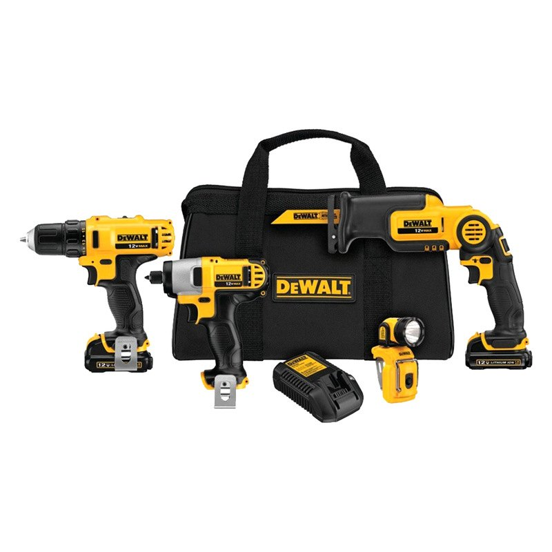Dewalt 174 Dck413s2 12v Max 4 Tool Combo Kit
