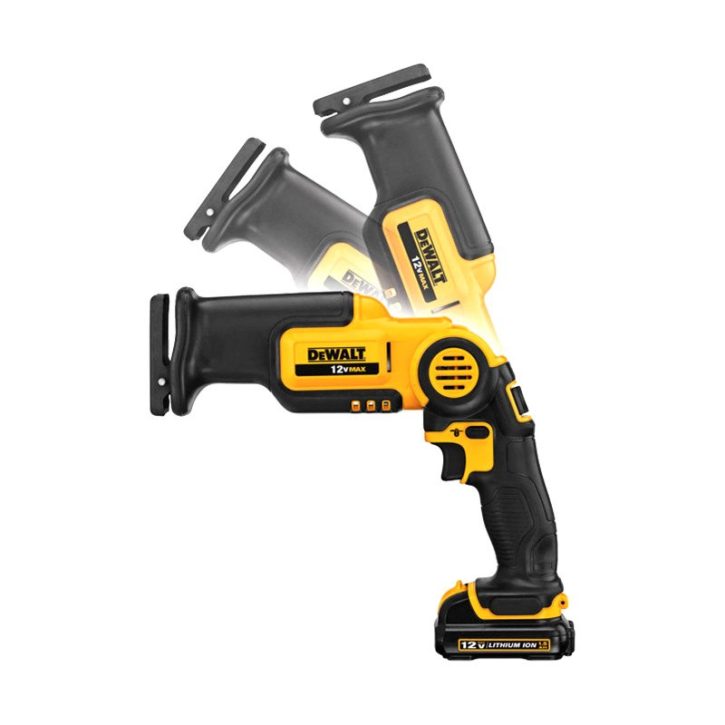 New - Best Price Dewalt Dcs310s1 12 Volt Max Pivot Reciprocating Saw