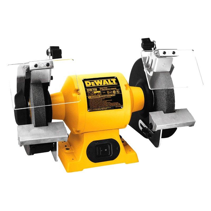 Dewalt dw756 6 bench grinder for Table grinder