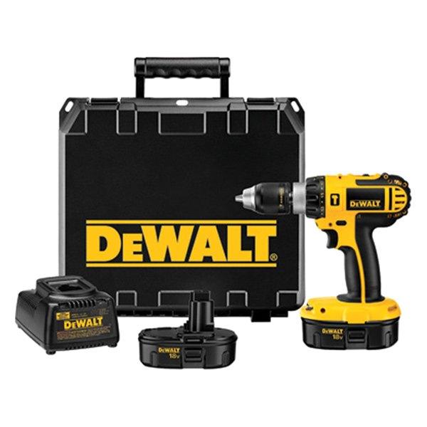 dewalt dc725ka 18v cordless hammer drill. Black Bedroom Furniture Sets. Home Design Ideas