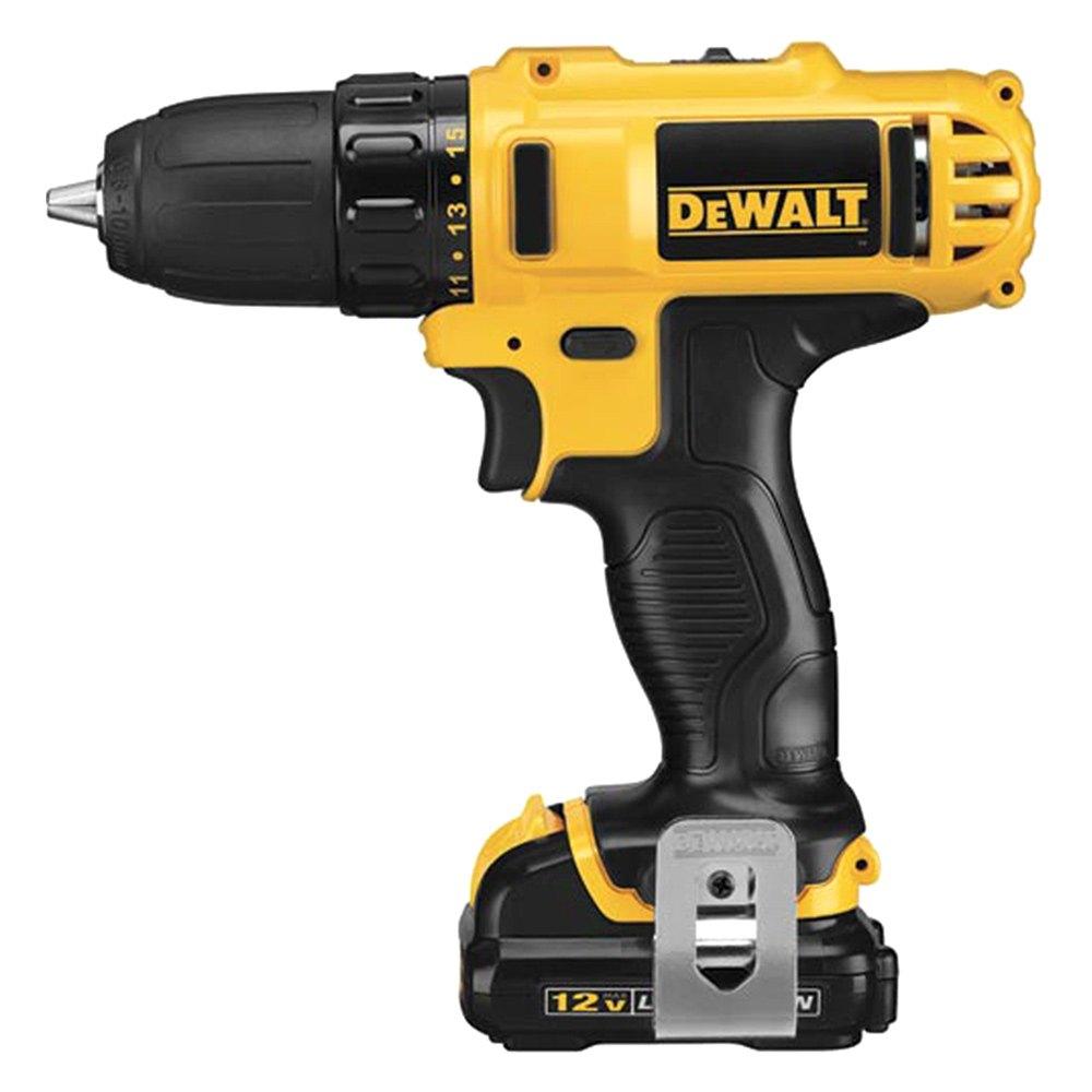 Dewalt 174 Dcd710s2 12v Cordless Drill Driver Kit Toolsid Com