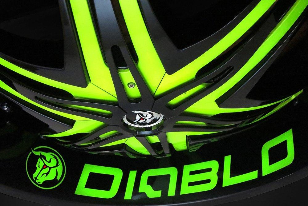 Diablo wheels rims from an authorized dealer for Custom elite