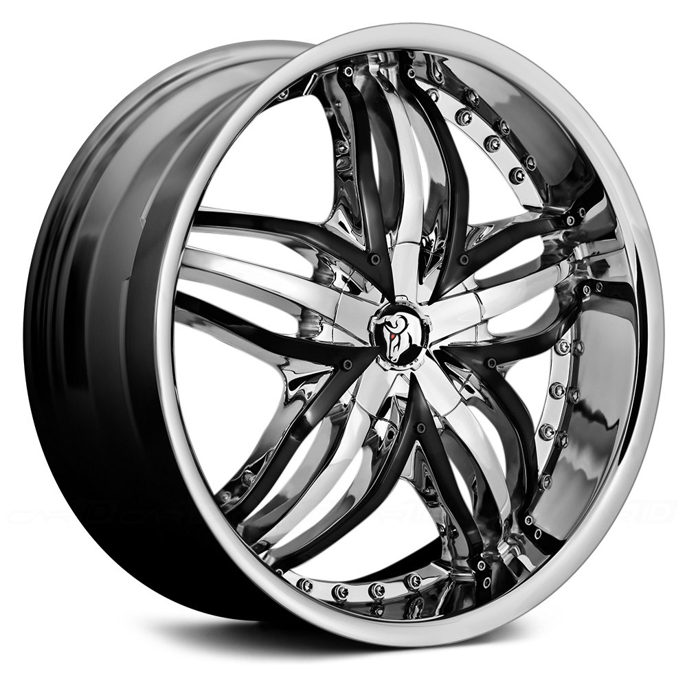 how to clean black chrome rims