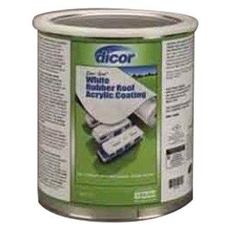Dicor Rubber Roof Coating Gallon White Ebay