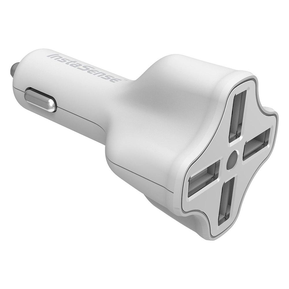 digipower pc406i instasense 4 port 6 2a usb car charger. Black Bedroom Furniture Sets. Home Design Ideas