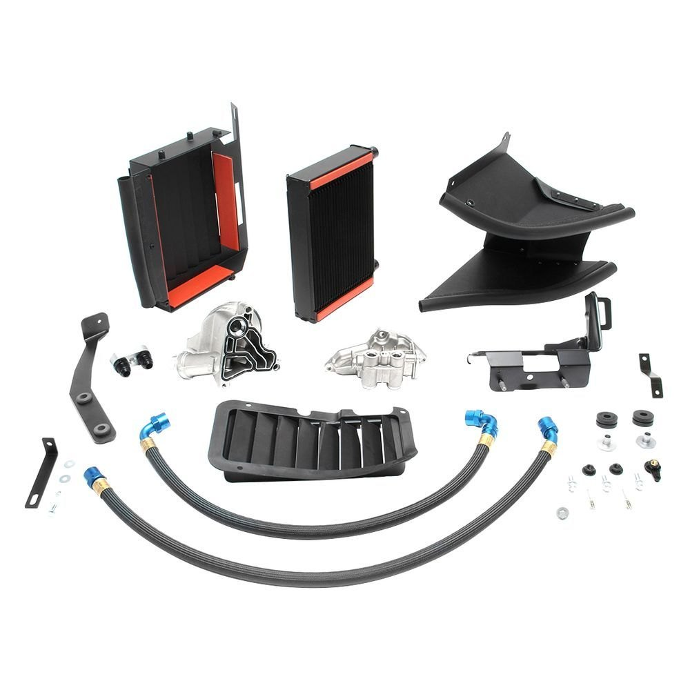 BMW 3-Series 2007 High Capacity Oil Cooler System