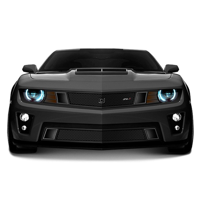 Dj grilles chevy camaro 2014 2015 1 pc gt strada series black mesh grille - Grilles indiciaires fpt 2015 ...