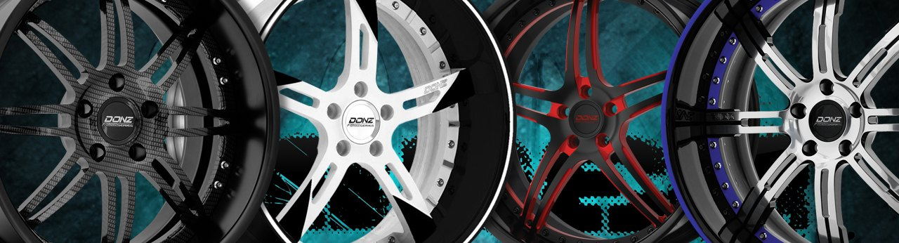 Universal DONZ WHEELS & RIMS