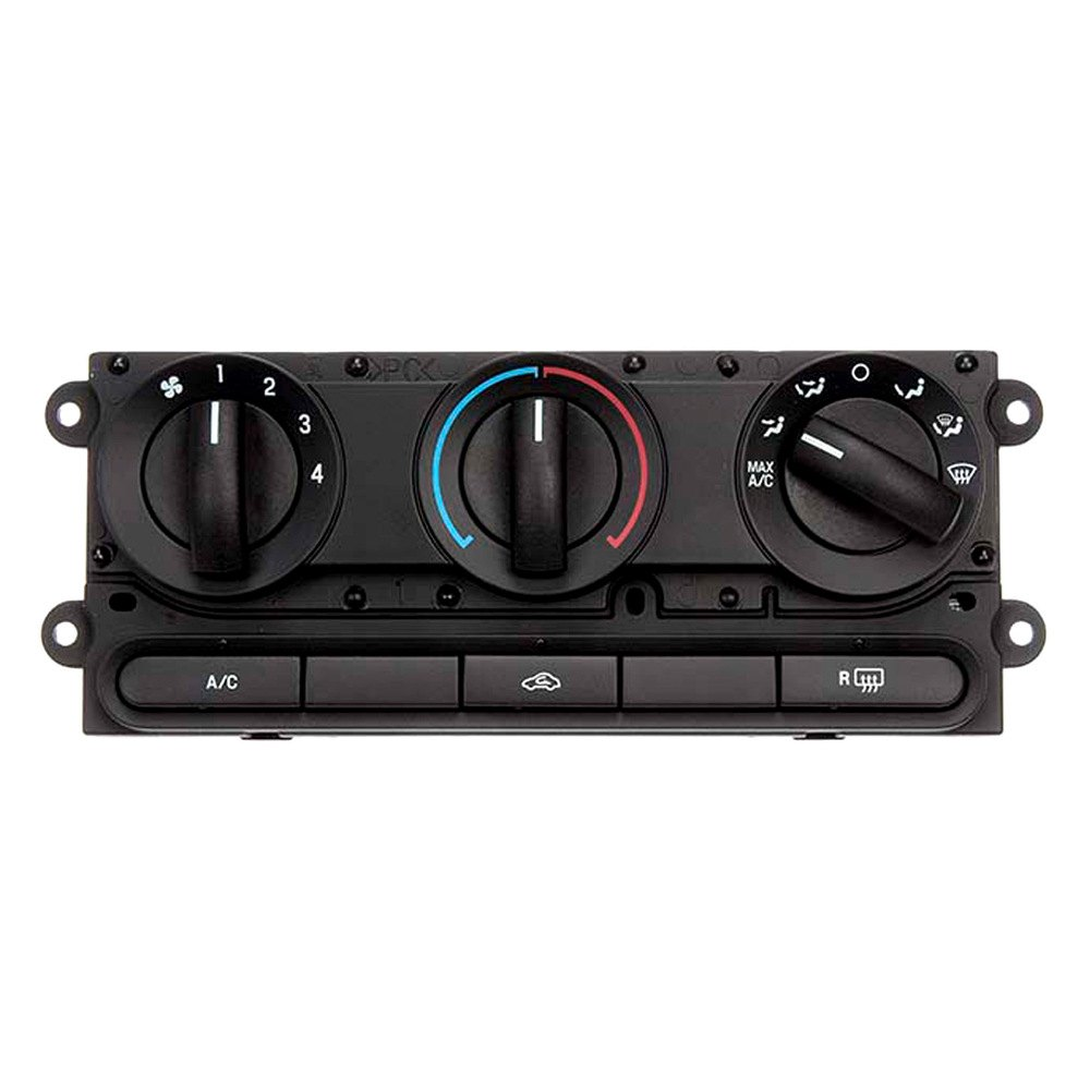 Climate Control Unit: Ford F-150 2006-2008 Remanufactured Climate