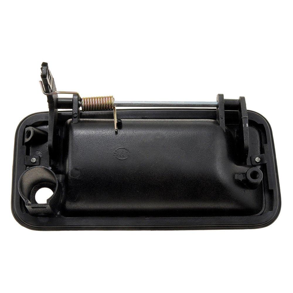 Dorman 77096 front driver side exterior door handle for Door latch carid