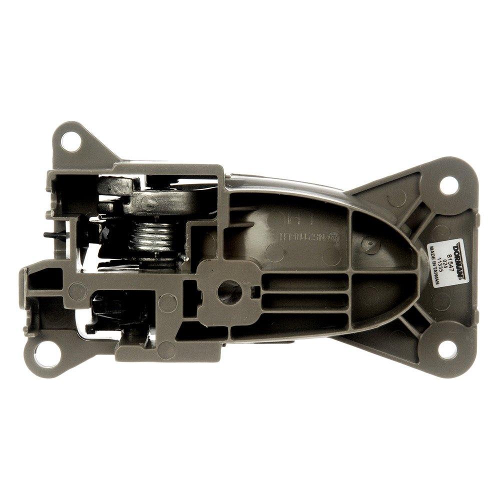 Dorman 81547 front driver side interior door handle for 03 nissan altima door handle replacement