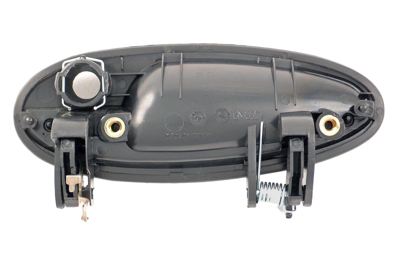 Dorman chevy impala 2000 2005 exterior door handle for Door latch carid