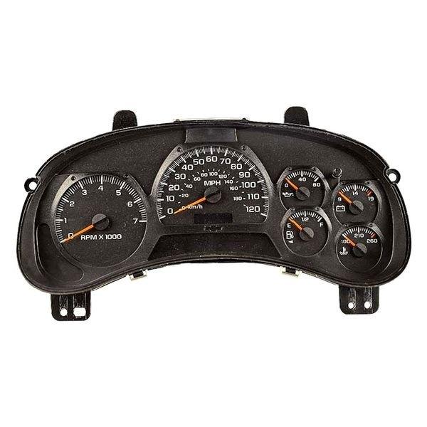 2002-2004 Chevy Trailblazer Rebuilt Speedometer Gauge Cluster w//o DIC WARRANTY