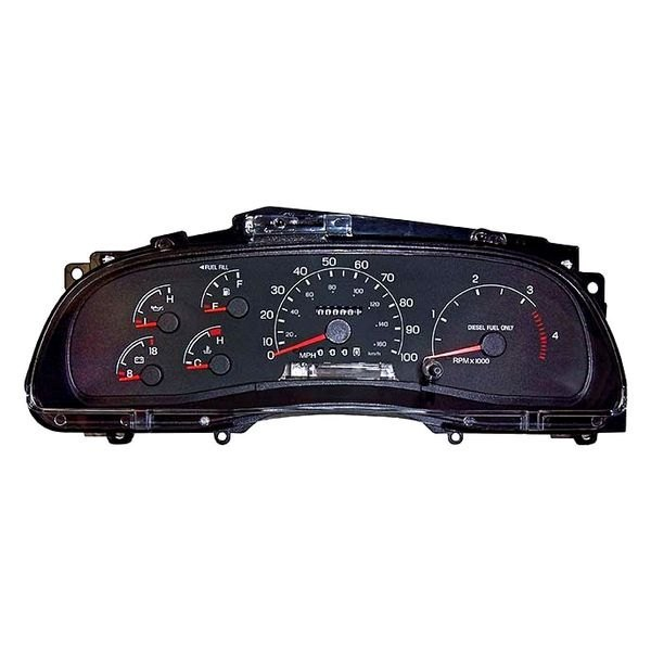 Ford Focus 2000 2004 Replace 2fyp Remanufactured Complete: Ford F350 Dashboard Instrument Cluster