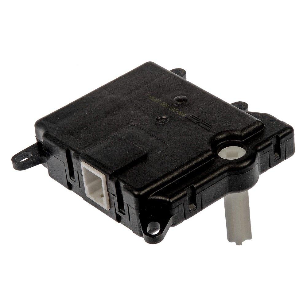 on Hvac Heater Mode Door Lever Recirculation Actuator