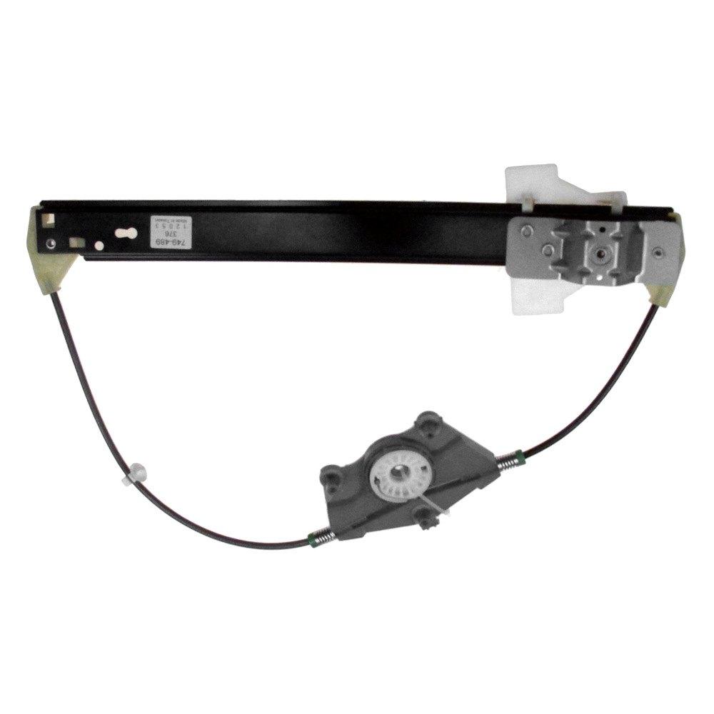 Dorman audi a4 2009 rear power window regulator w o motor for 2000 audi a4 window regulator replacement