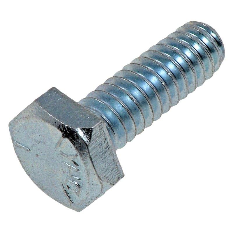 Dorman® 170-007 - Hex Cap Screw (Grade 5 Steel, Chrome, 1 ...