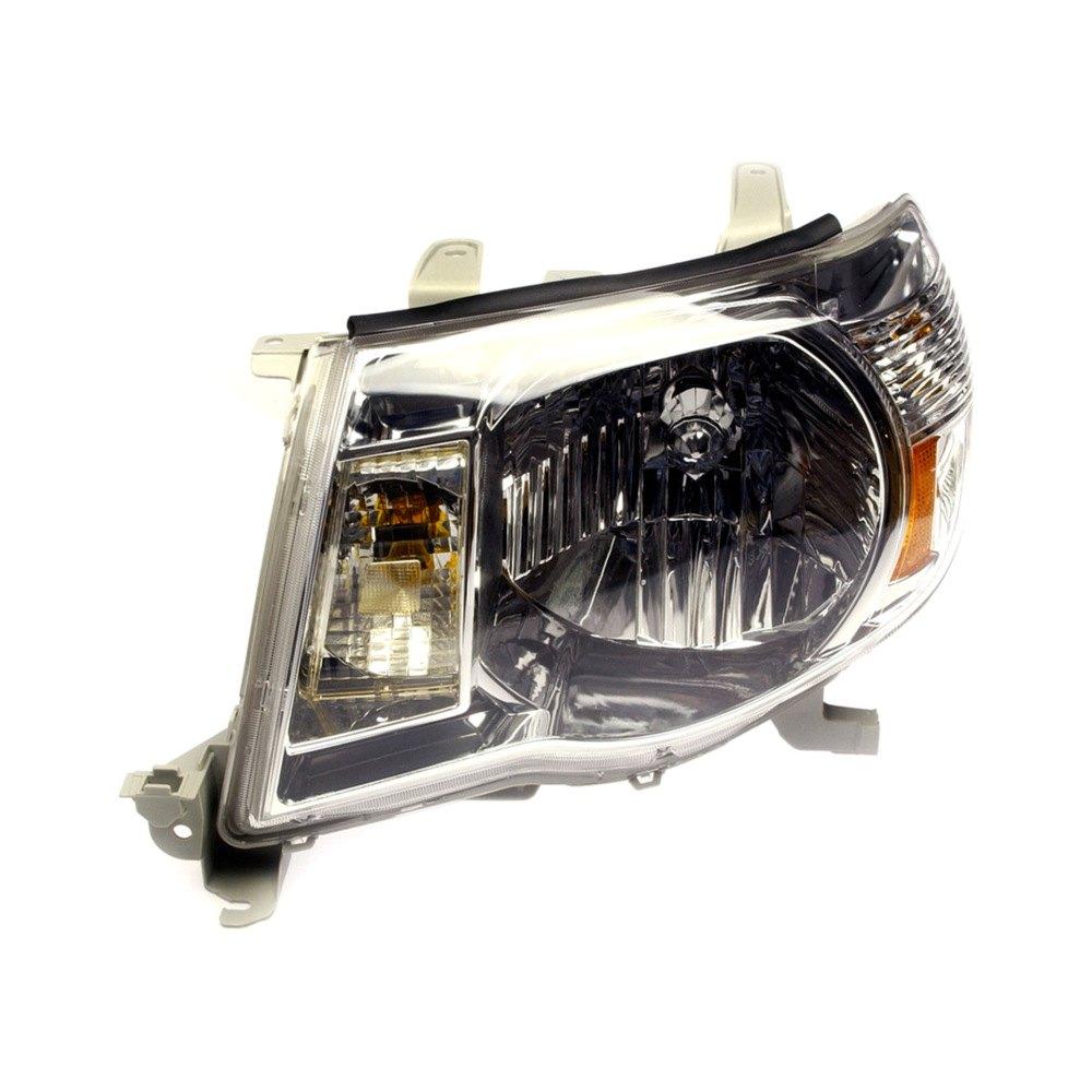 Dorman toyota tacoma 2005 replacement headlight for Garage toyota lens