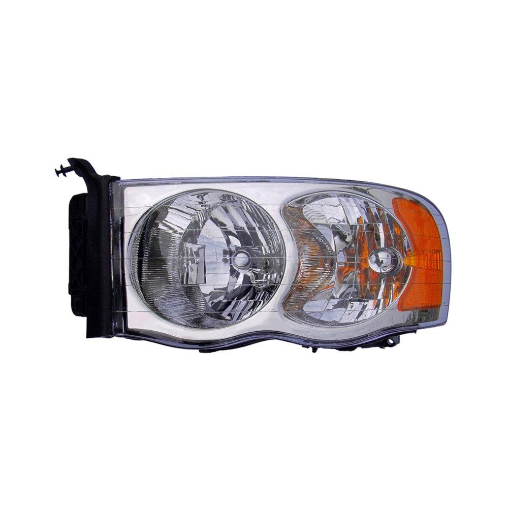 Dodge Replacement Headlights: Dodge Ram 1500 / 2500 / 3500 2003 Replacement