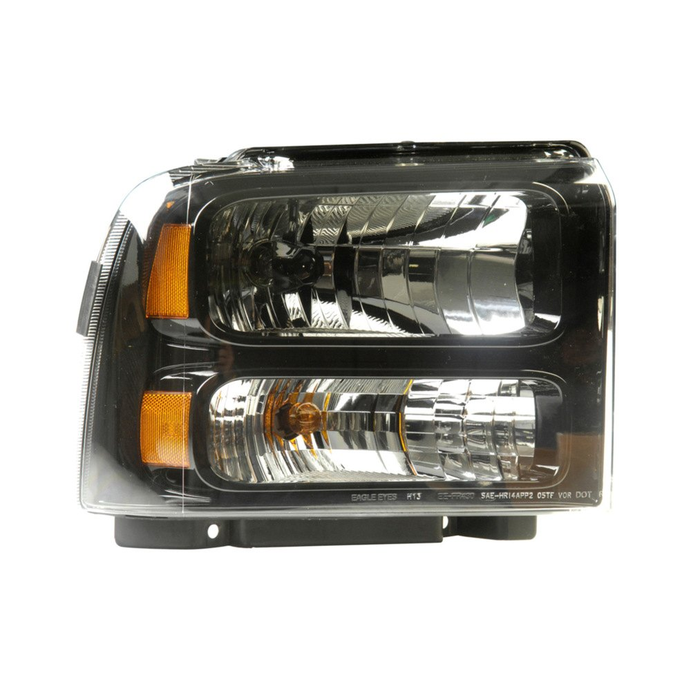 Ford F 250 Headlights : Dorman ford f super duty with factory halogen