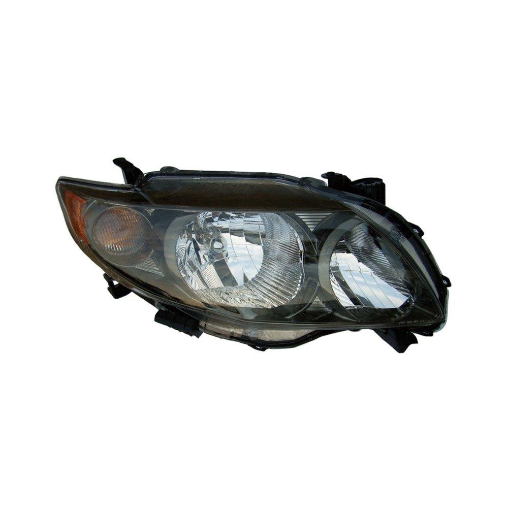 Dorman toyota corolla 2009 replacement headlight for Garage toyota lens