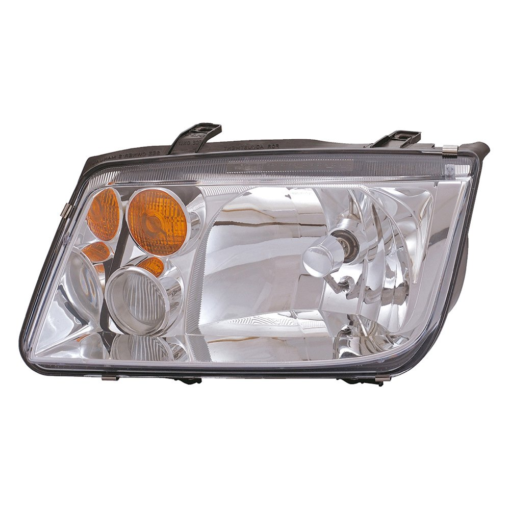 dorman volkswagen jetta  factory single bulb type light   replacement headlight