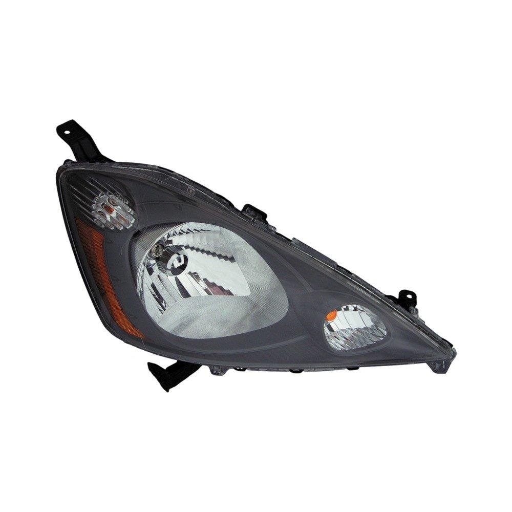 dorman honda fit 2009 2011 replacement headlight. Black Bedroom Furniture Sets. Home Design Ideas