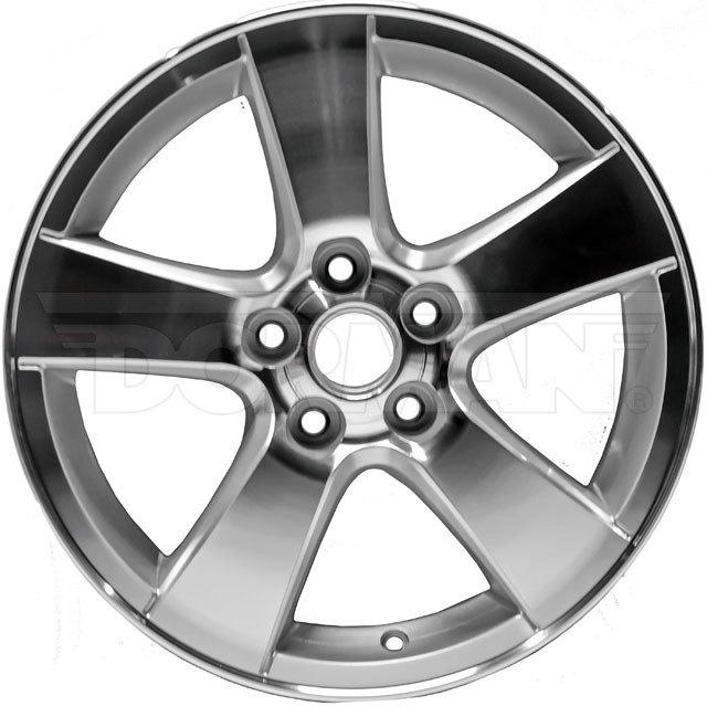 dorman 939 669 chevy cruze 2014 16 5 spokes silver alloy wheel. Black Bedroom Furniture Sets. Home Design Ideas