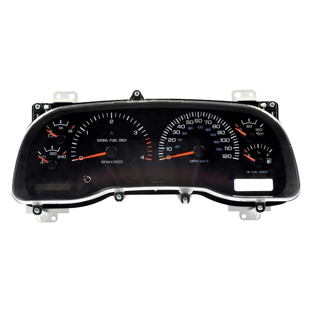 Dorman Dodge Ram With 120 Mph Top Speed 1998 Remanufactured Instrument Cluster