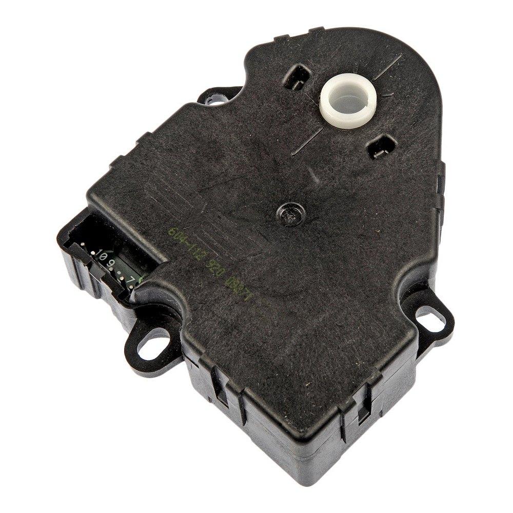 replace hvac door actuator  infiniti fx