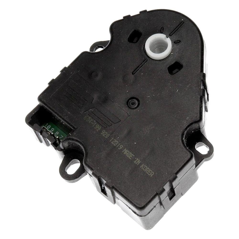 Dorman 604 199 auxiliary hvac heater blend door actuator for Door actuator